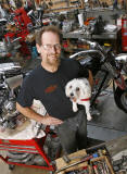 Mike Roberts/Owner- Underground Motorcycles, Riviera Beach, FL.  � Michael Price Photography 2008